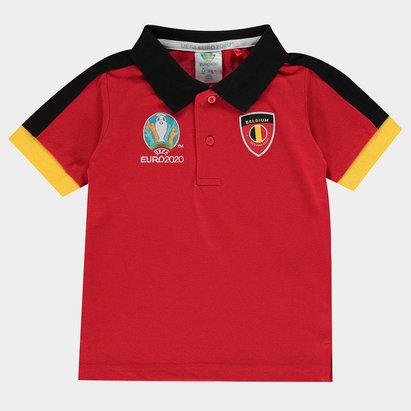 UEFA Euro 2020 Belgium Polo Shirt Infants