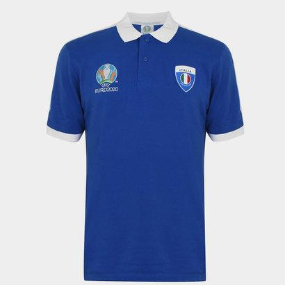UEFA Euro 2020 Italy Polo Shirt Mens