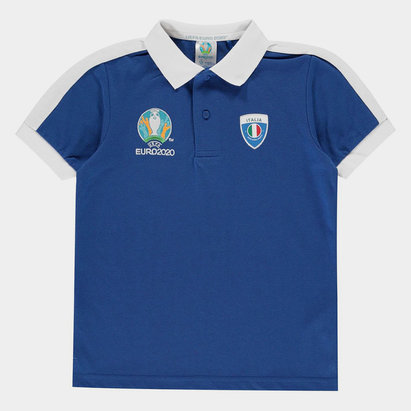 UEFA Euro 2020 Italy Polo Shirt Junior Boys