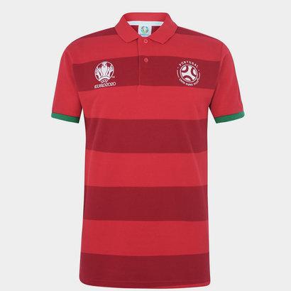 UEFA Euro 2020 Stripe Polo Shirt Mens