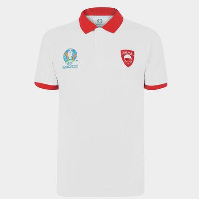 UEFA Euro 2020 Poland Polo Shirt Mens