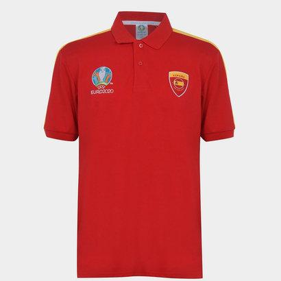 UEFA Euro 2020 Spain Polo Shirt Mens