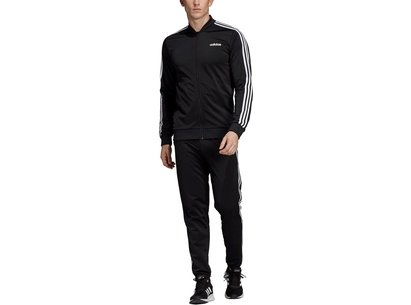 adidas 3 Stripe Polo Tracksuit Mens