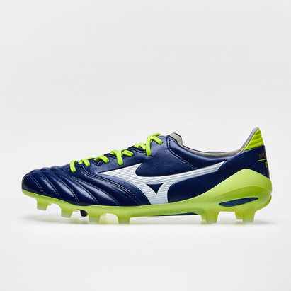 Morelia Neo CL AG Football Boots - Diva Blue/Safety Yellow - size 10.5 KZz7X