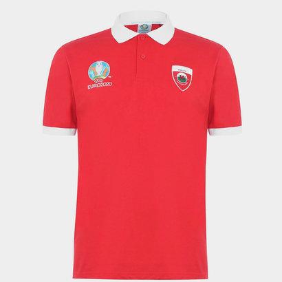 UEFA Euro 2020 Wales Polo Shirt Mens