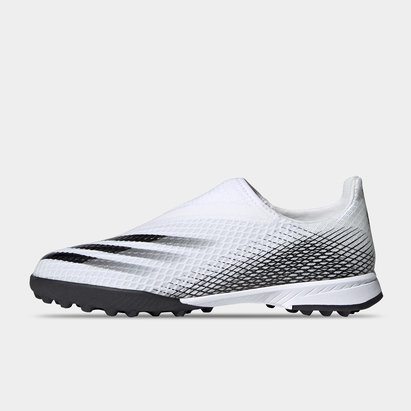 adidas X Ghosted .3 Laceless Junior Astro Turf Trainers