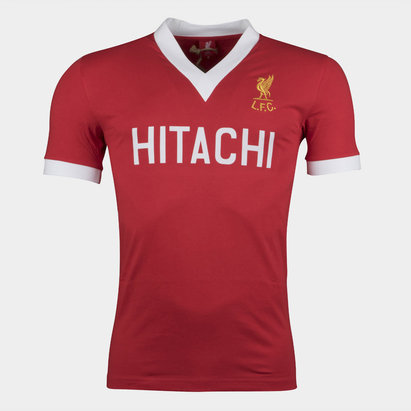 Liverpool 1978 Home S/S Hitachi Retro Football Shirt