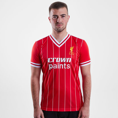 LFC Liverpool 1982 Home Crown Paints S/S Retro Football Shirt