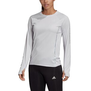 adidas Long Sleeve Run T-Shirt Ladies