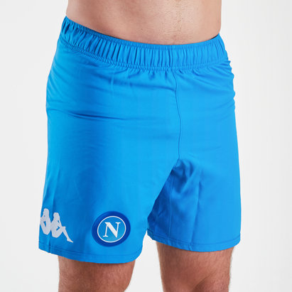 Kappa Napoli 17/18 Home Replica Football Shorts