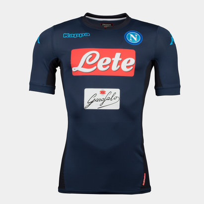 Kappa Napoli 17/18 3rd S/S Players Match Football Shirt