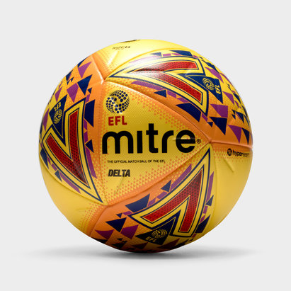 Mitre Delta Hyperseam 14 Panel EFL Official Match Football