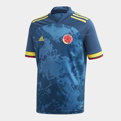 adidas Colombia 2020 Kids S/S Football Shirt