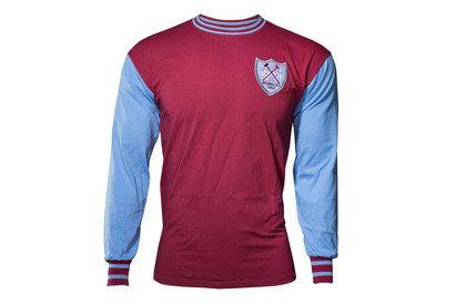 Score Draw West Ham United 1964 FA Cup Final No6 Retro Football Shirt