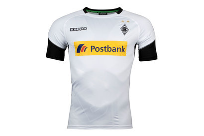 Kappa Borussia Monchengladbach 17/18 Home S/S Replica Football Shirt