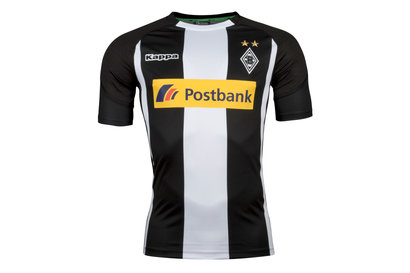 Kappa Borussia Monchengladbach 17/18 Away S/S Replica Football Shirt