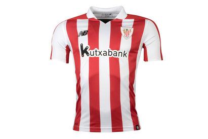 New Balance Athletic Bilbao 17/18 Home S/S Replica Football Shirt