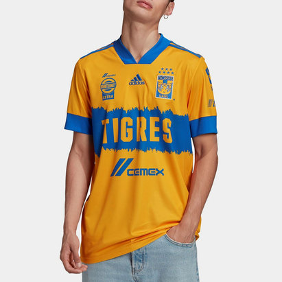 adidas Tigres UANL Home Shirt 20/21 Mens