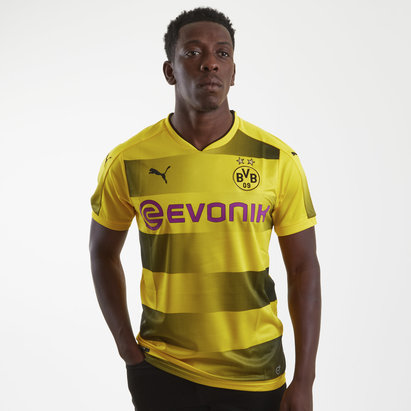 Puma Borussia Dortmund 17/18 Home S/S Football Shirt