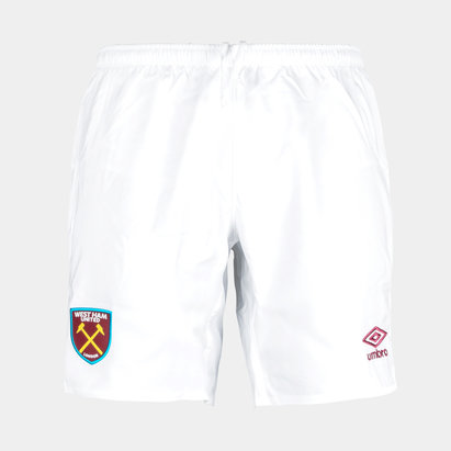 Umbro West Ham United 17/18 Home Football Shorts