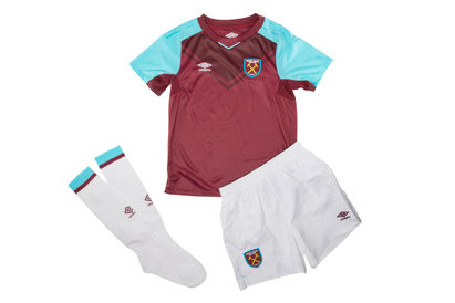 Umbro West Ham United 17/18 Home Kids Replica Football Kit