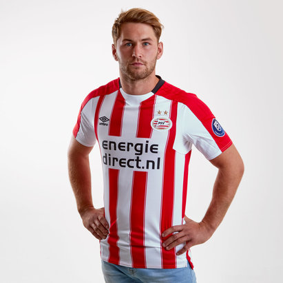 Umbro PSV Eindhoven 17/18 Home S/S Replica Football Shirt