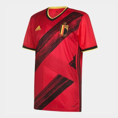 adidas Belgium 2020 Home S/S Football Shirt