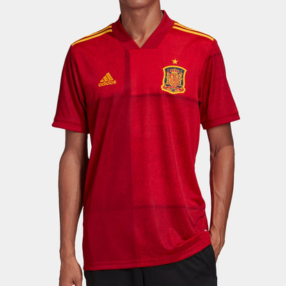 adidas Spain 2020 Home S/S Football Shirt