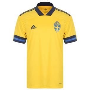 adidas Sweden 2020 Home S/S Football Shirt