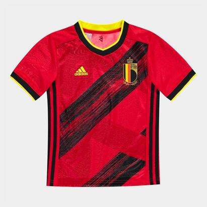 adidas Belgium 2020 Kids Home S/S Football Shirt