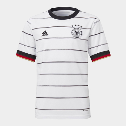 adidas Germany 2020 Home Kids S/S Football Shirt
