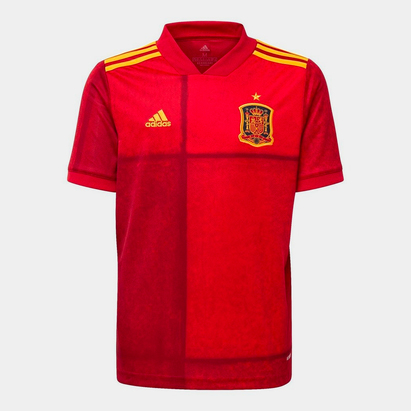 adidas Spain 2020 Kids Home S/S Football Shirt