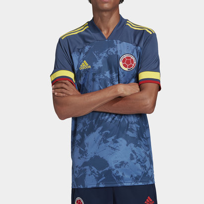 adidas Colombia Away 2020 Football Shirt
