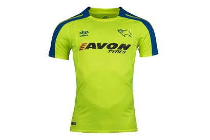 Umbro Derby County 17/18 Away S/S Replica Football Shirt