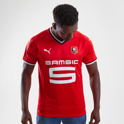 Puma Stade Rennais 17/18 Home S/S Replica Football Shirt