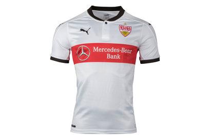 Puma VFB Stuttgart 17/18 Home S/S Football Shirt
