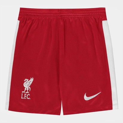 Nike Liverpool Home Shorts 20/21 Kids