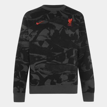 Nike Liverpool Crew Neck Sweatshirt 20/21 Mens
