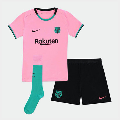 Nike Barcelona Third Mini Kit 20/21
