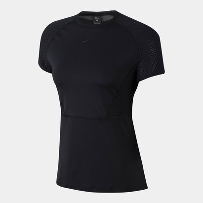 Nike Luxe Mesh T Shirt Ladies