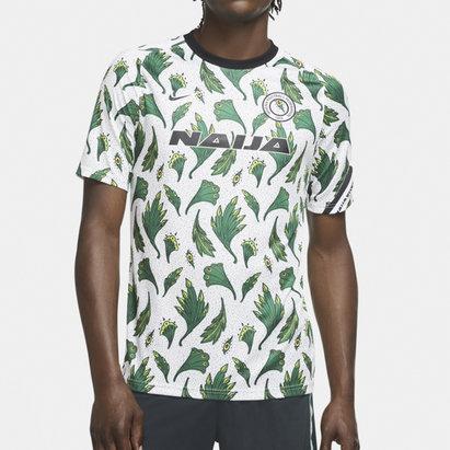 Nike Nigeria Pre Match Shirt 2020 Mens