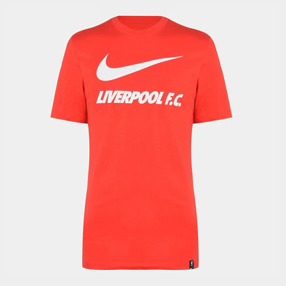 Nike Liverpool Swoosh T Shirt 20/21 Mens