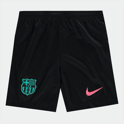 Nike Barcelona Third Shorts 20/21 Kids