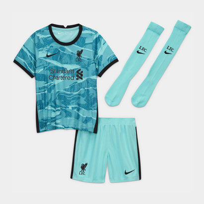 Nike Liverpool Away Mini Kit 20/21