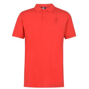 Nike Liverpool Crest Polo Shirt 20/21 Mens