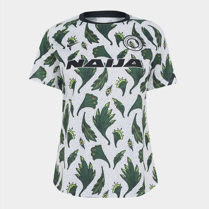 Nike Nigeria Pre Match Shirt 2020 Ladies