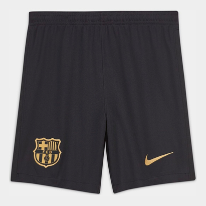 Nike Barcelona Away Shorts 20/21 Kids