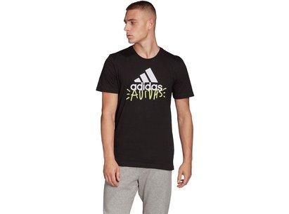 adidas Doodle T Shirt Mens