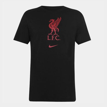 Nike Liverpool Crest T Shirt 20/21 Mens