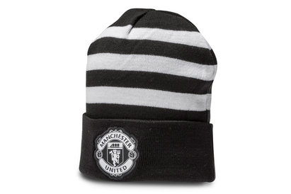 adidas Manchester United 17/18 Supporters 3 Stripe Football Beanie